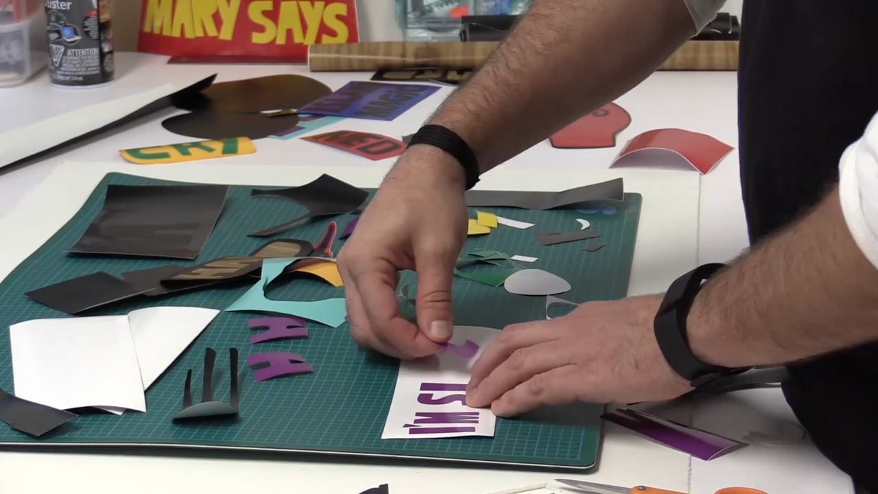 MAKER MAKER: Vinyl Stickers with Jerry Ropson