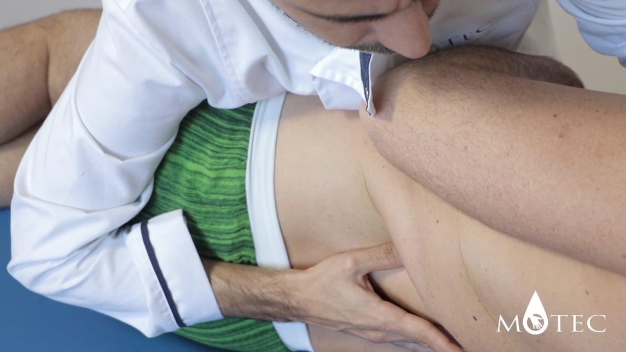 Osteopatía para el tratamiento de la lumbalgia