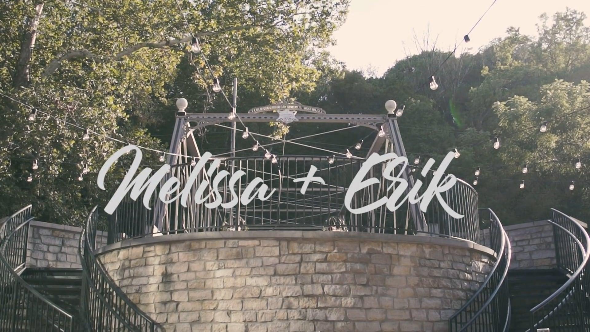 Melissa + Erik - Wedding Feature