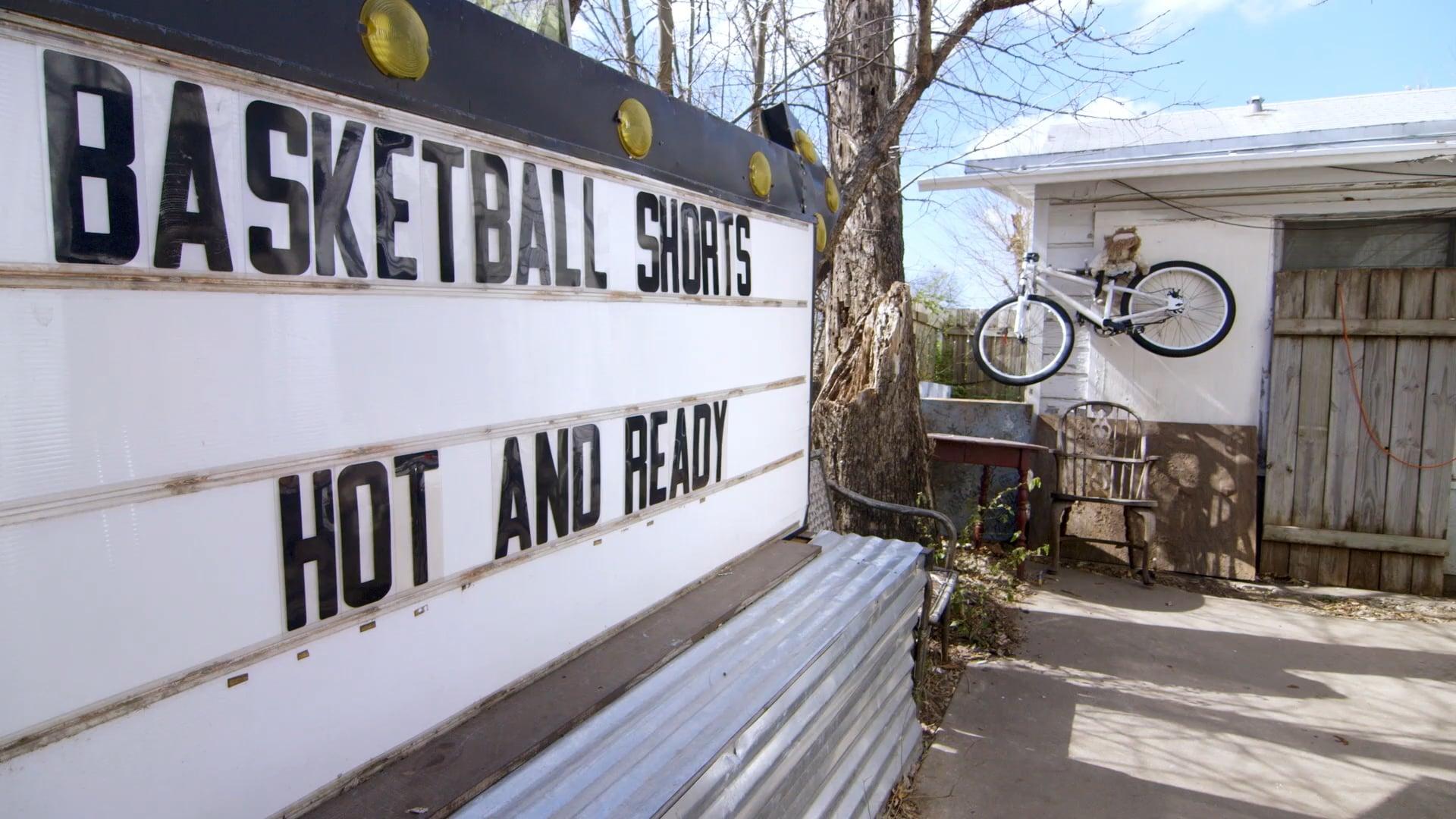 BASKETBALL SHORTS - HOT AND READY