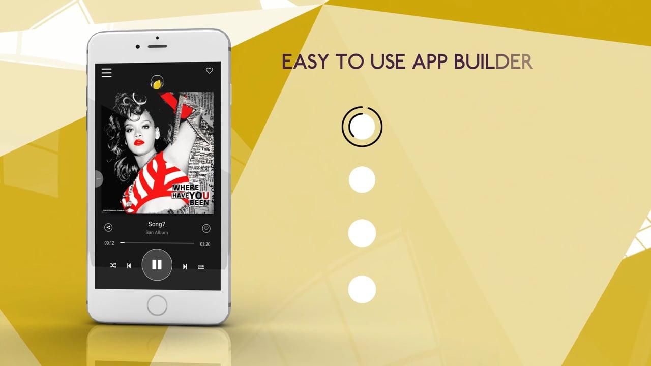 Musik Lemon Artists App Builder Promo Video 2017
