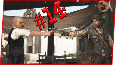 HE GOT SALTY AND CHALLENGED ME TO A DUEL! - Red Dead Redemption Walkthrough Pt.14
