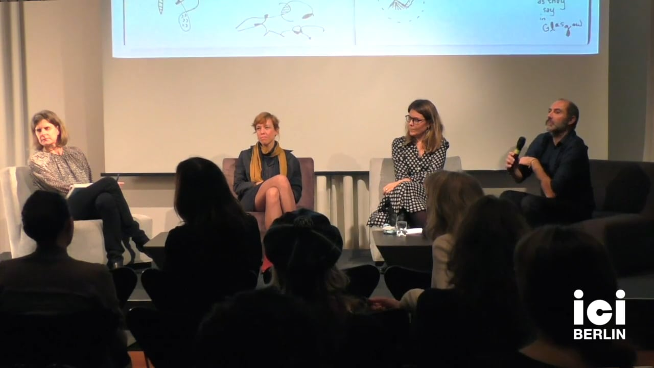 Discussion with Ina Steiner and Carles Guerra