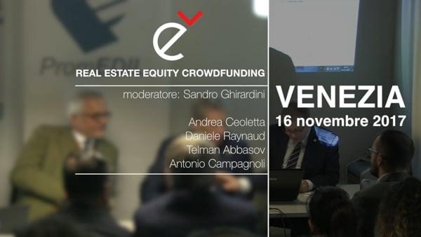 Real Estate Equity Crowdfunding Esperienze internazionali, novità normative, prospettive (seconda parte)