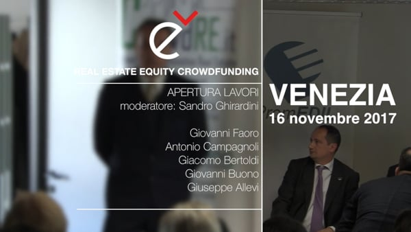 Real Estate Equity Crowdfunding Esperienze internazionali, novità normative, prospettive (prima parte)
