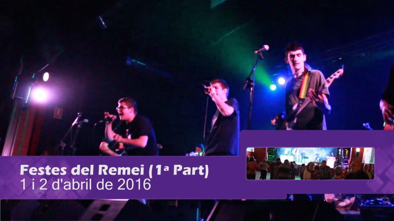 Festes del Remei 2016 (1 i 2 d'abril)