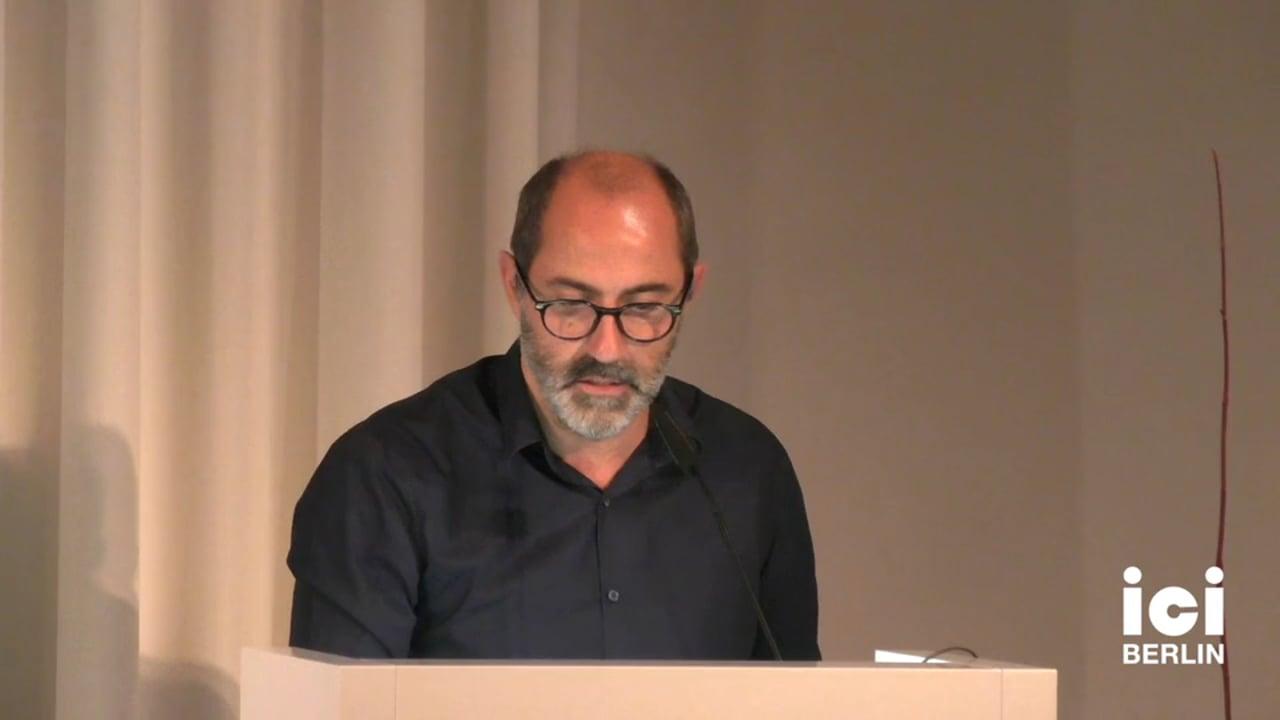 Talk by Carles Guerra