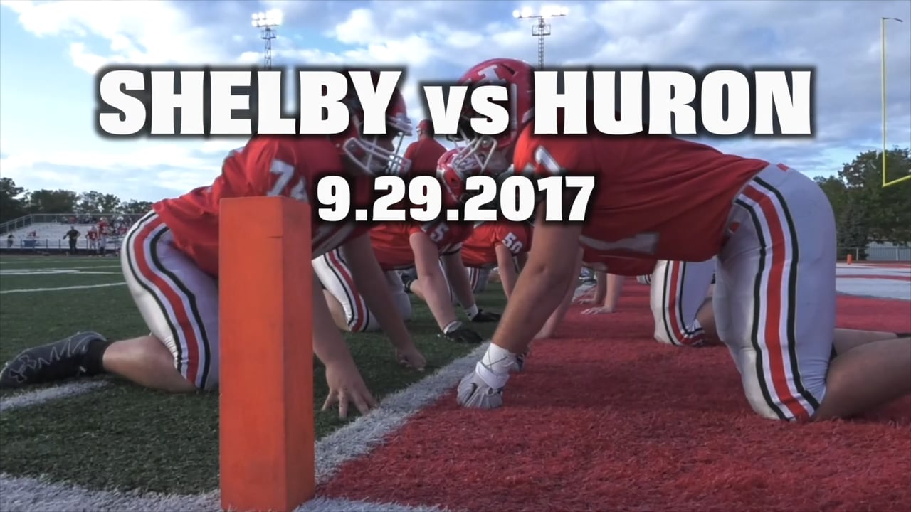 Shelby vs Huron 9.29.17