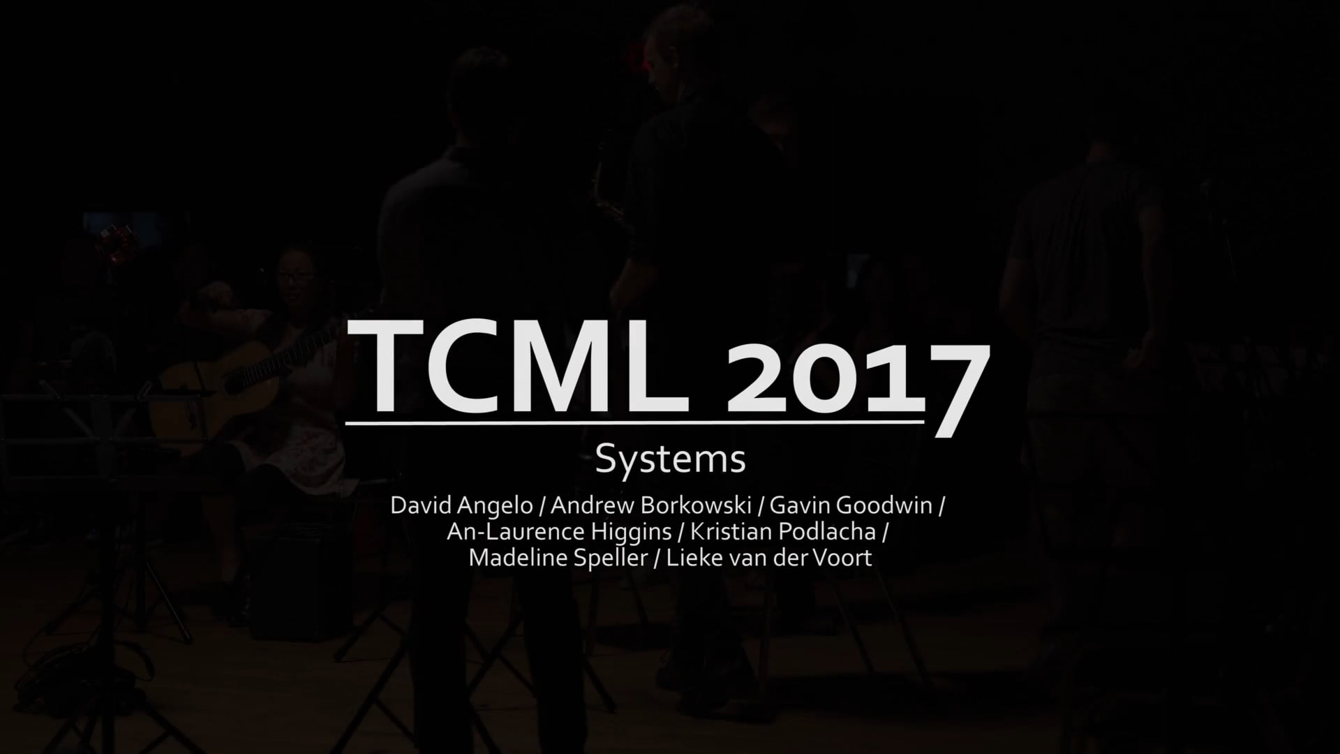 Systems (TCML 2017)