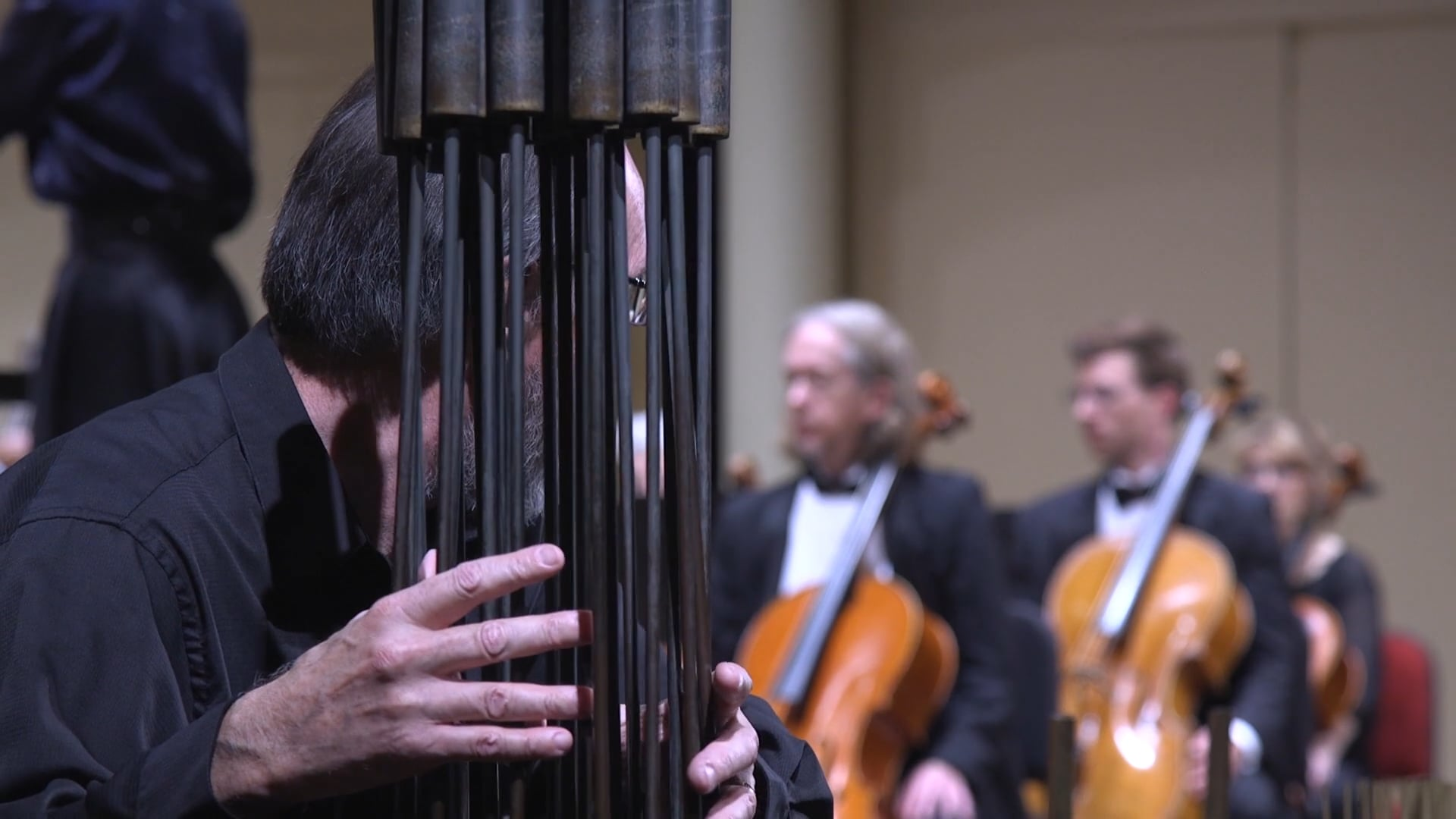 Teaser: Visible Music For Bertoia Sound Sculptures and Orchestra