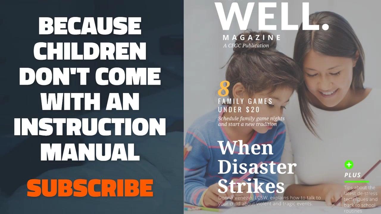 WELL.Magazine Promo 3