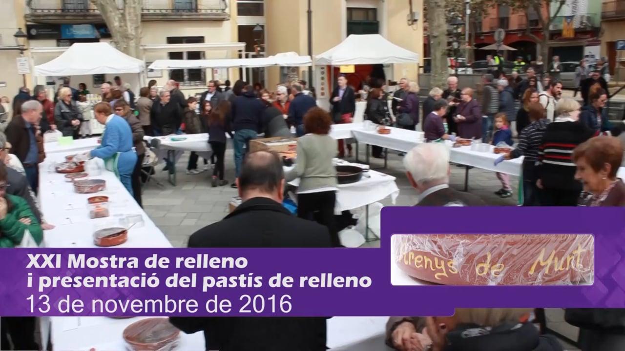 XXI Mostra de Relleno i presentació del Pastís de relleno