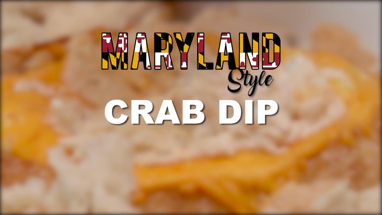 Maryland Style Crab Dip