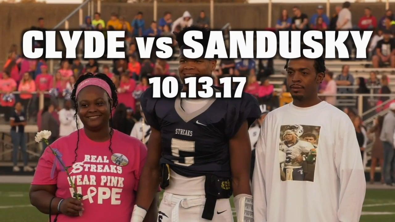 Clyde vs Sandusky 10.13.17
