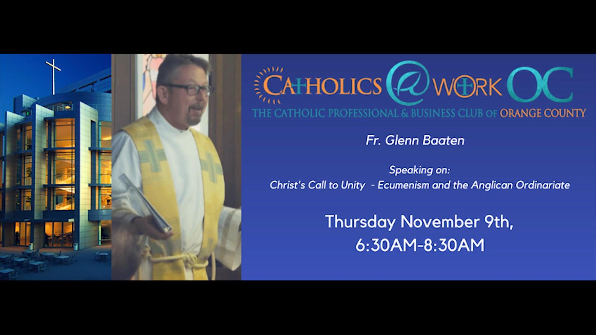 November 2017 - Fr Glenn Baaten