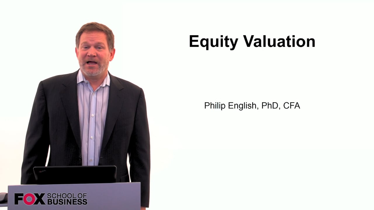 60102Equity Valuation