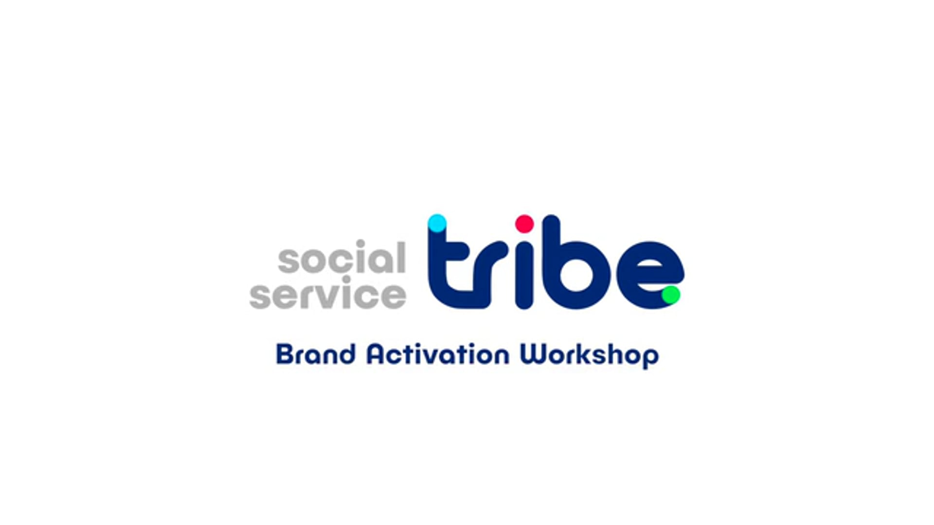 National Council of Social Services: Tribe Workshops 2017
