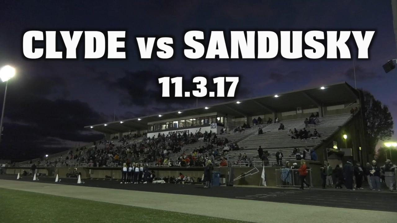 Clyde vs Sandusky 11.3.1