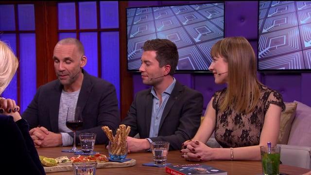 Richard van Hooijdonk in RTL Late Night op 27-11-2017