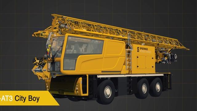 Cityboy show parts  -  Spierings mobile Cranes