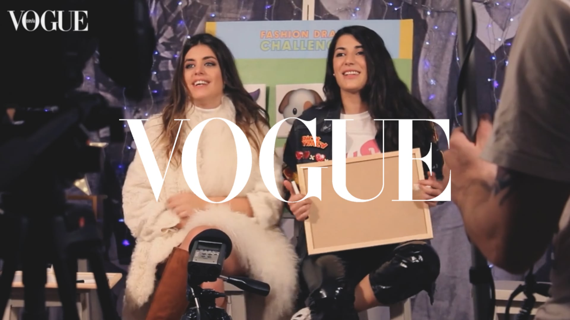 VOGUE Spain - Fashion Drama Making Of con Dulceida y Alba (vídeo: Leire Garmendia)