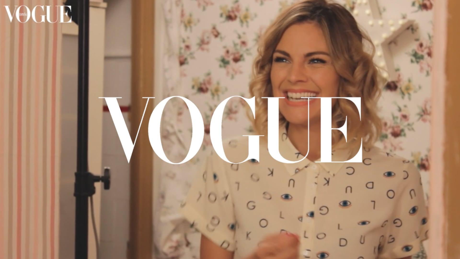 VOGUE Spain - Fashion Drama Making Of con Amaia Salamanca (vídeo: Leire Garmendia)