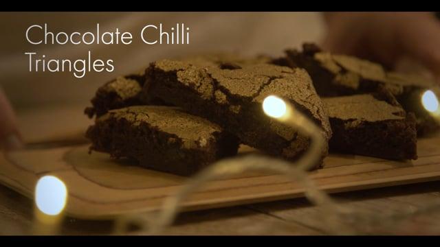 Csokoládés Chili háromszög recept