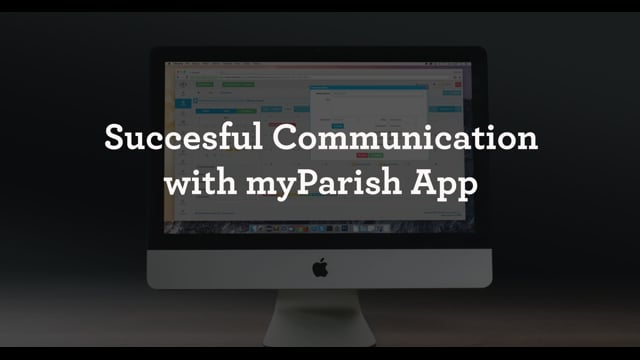 Successful Communication with myParish App