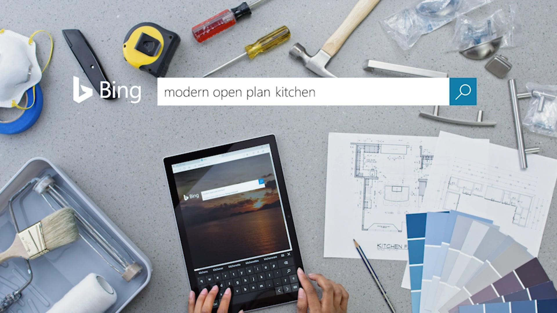 Microsoft Bing - Intelligent Search - Kitchen