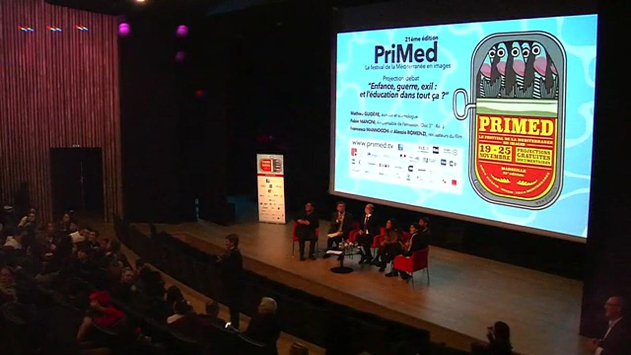 PriMed 2017 - Projection-débat de If I close my eyes