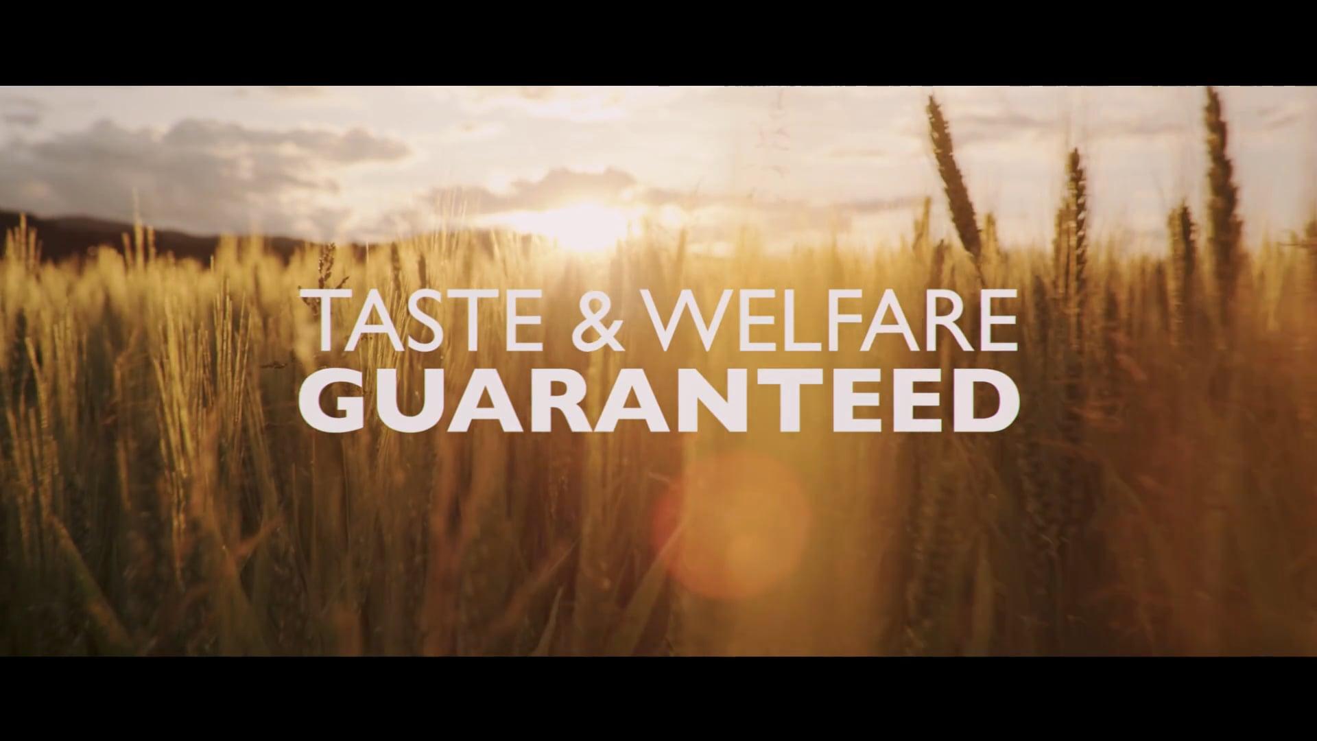 Taste & Welfare Guaranteed