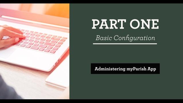 Part 1: Basic Configuration