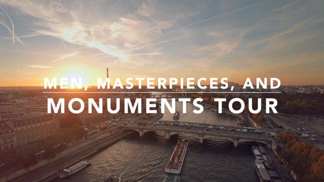 Men, Masterpieces, and Monuments Tour