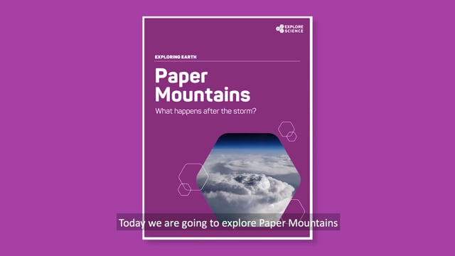 Exploring Earth: Paper Mountains Activity Training Video from the Explore Science: Earth & Space 2018 Toolkit