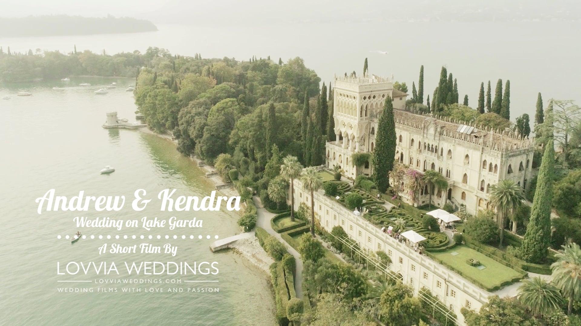 Wedding video on Lake Garda • Isola Cavazza • Italy / Andrew & Kendra (Coming soon trailer) lovviaweddings.com
