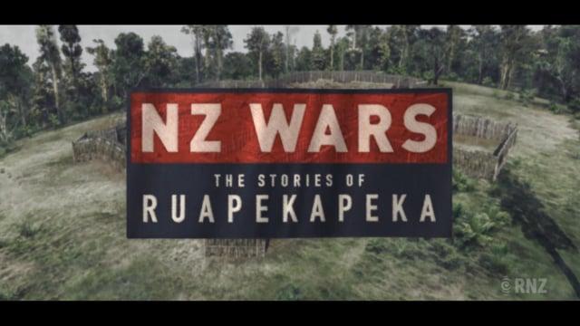 Scenes from: NZ Wars - The Stories of Ruapekapeka