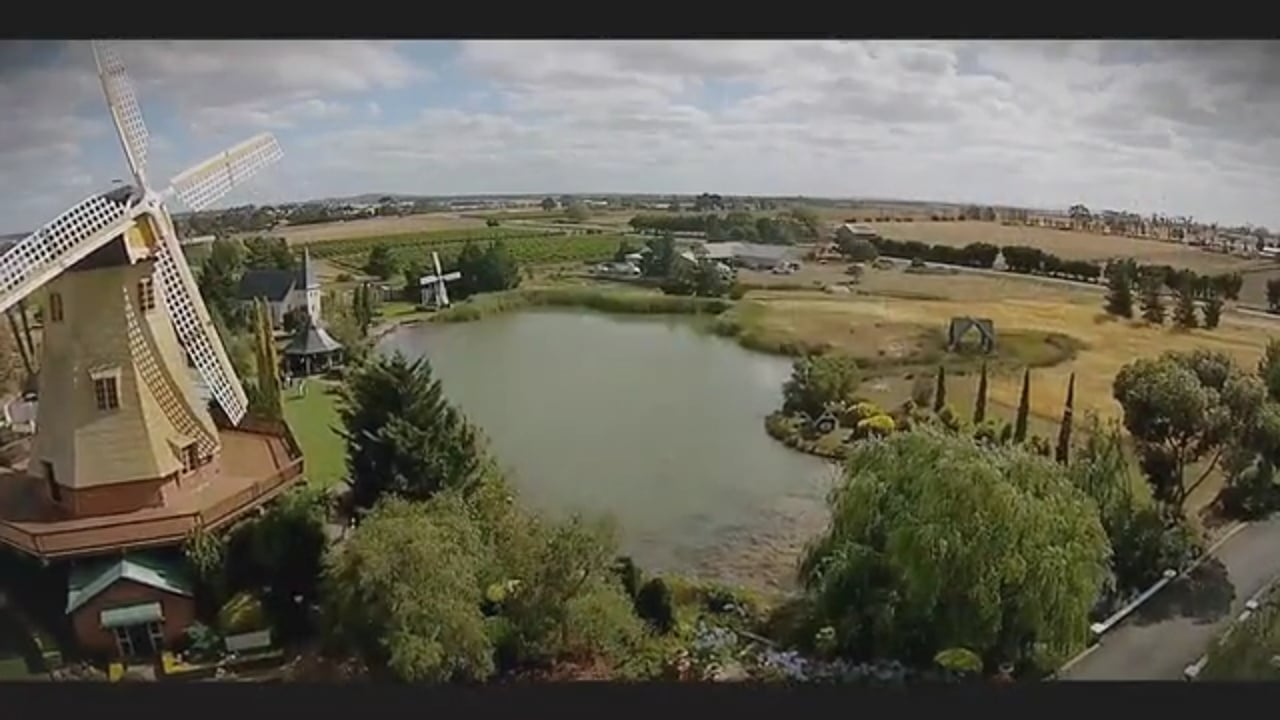 Aerial wedding footage Sequence