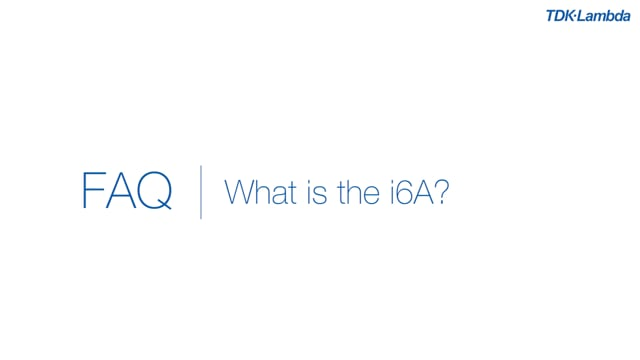 What is the i6A?