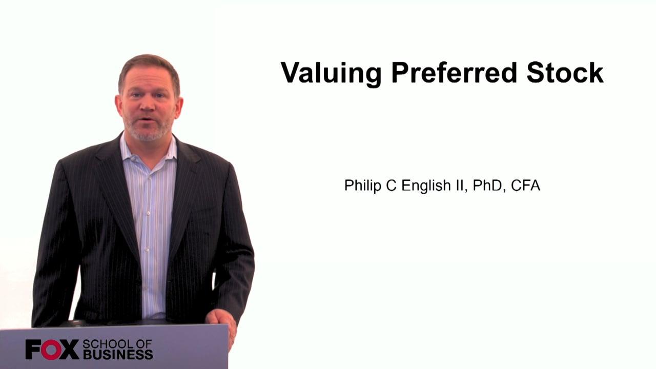 60108Valuing Preferred Stock