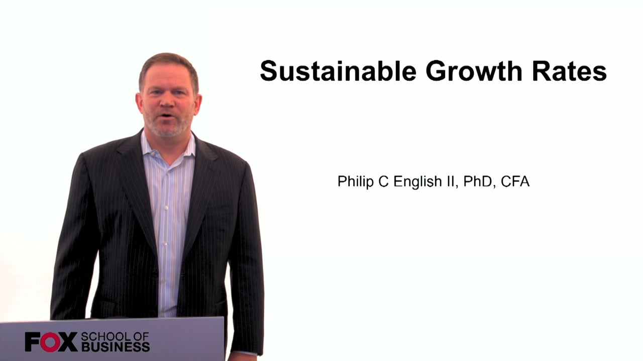 60107Sustainable Growth Rates