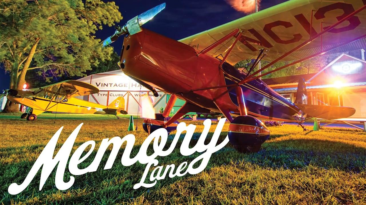 "2017 Vintage AirVenture ""Memory Lane"""