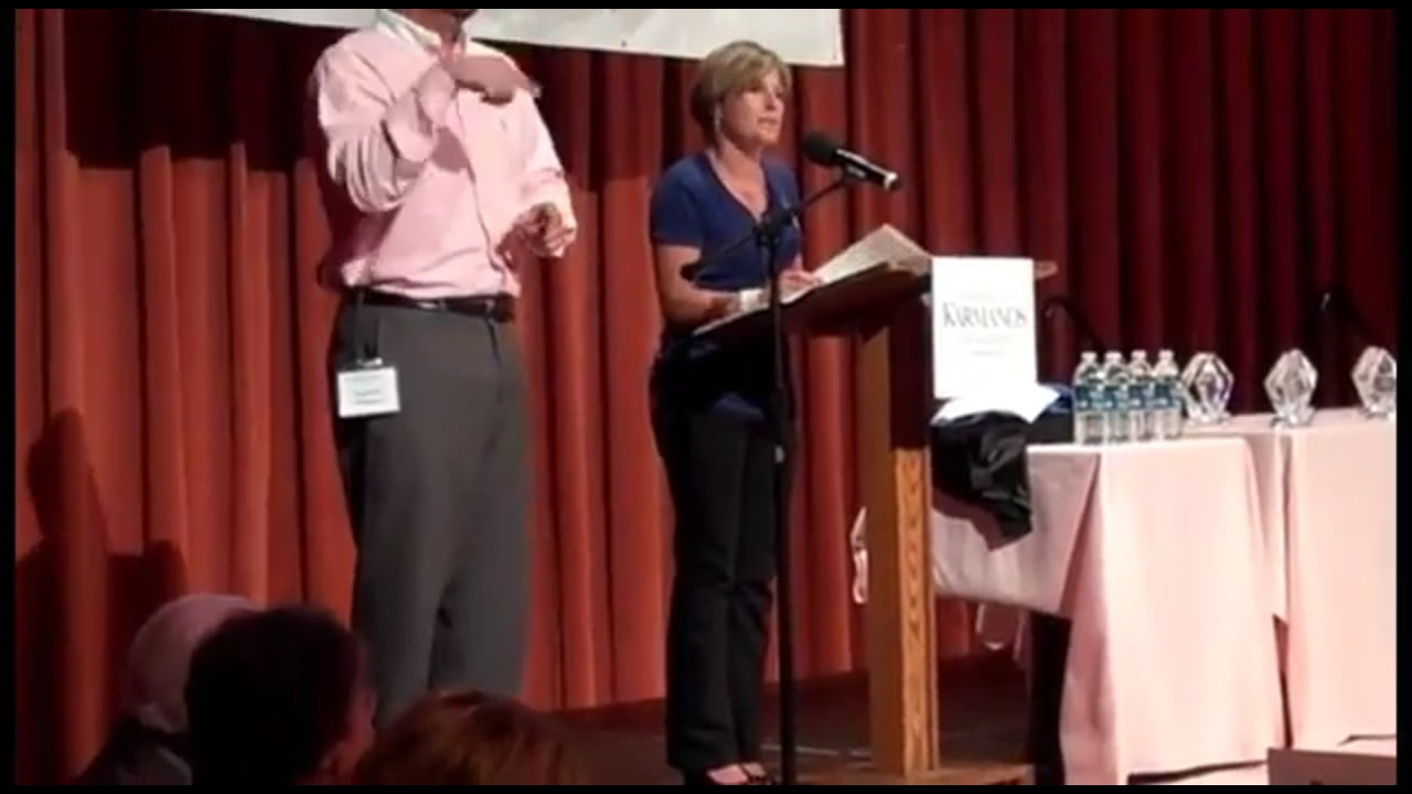 Emcee For Race for the Cure Detroit Awards Presentation