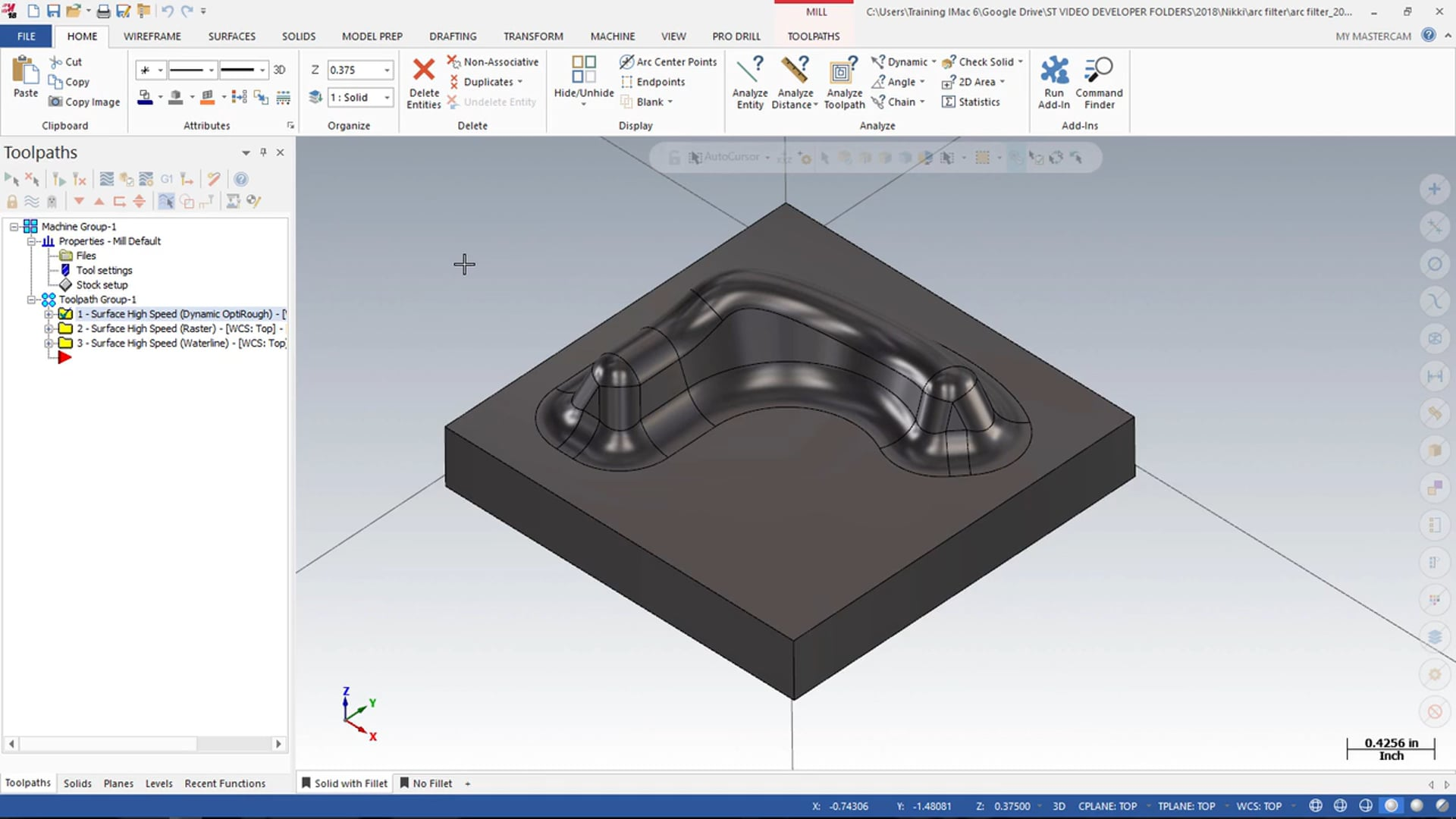Additional Milling Options