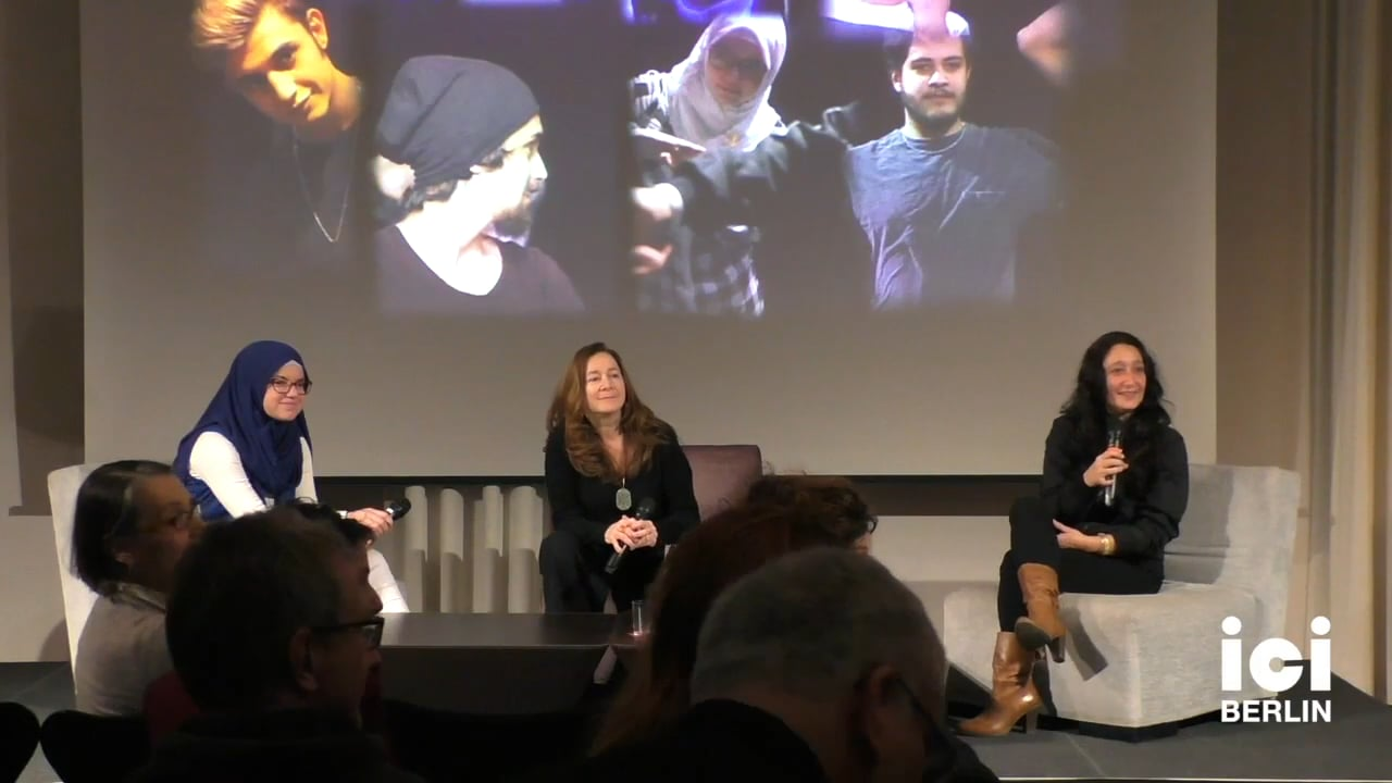 Discussion with Agnese Grieco, Lucia Chiarla and Hawa Morina