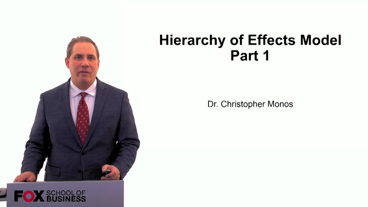 60068Hierarchy of Effects Model in Marketing Part 1