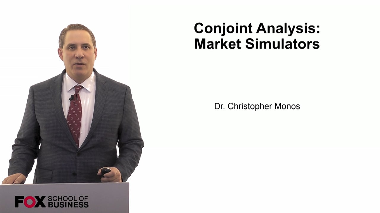60079Conjoint Analysis- Market Simulators