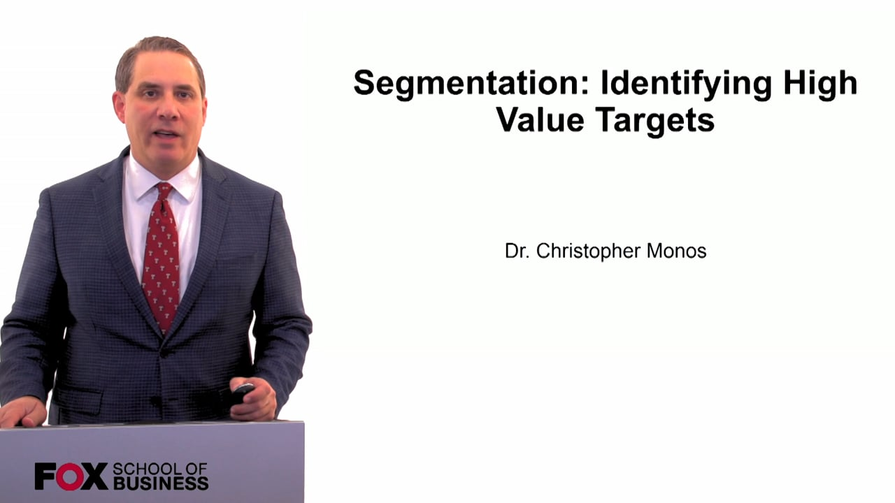 60084Segmentation- Identifying High Value Targets