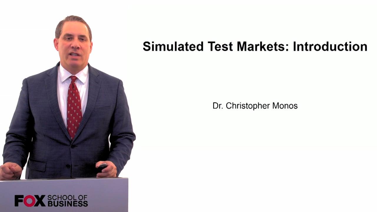 60083Simulated Test Market Forecasting – Introduction