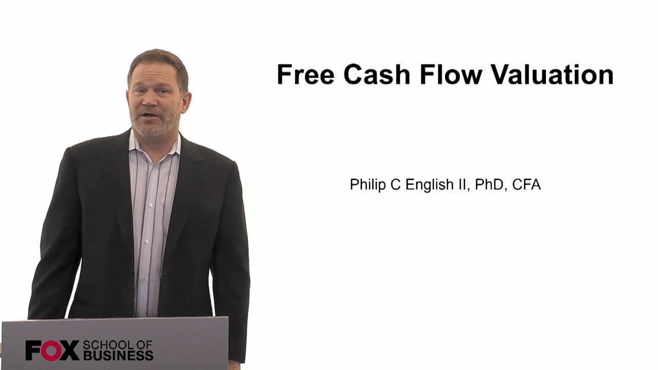 60113Free Cash Flow Valuation