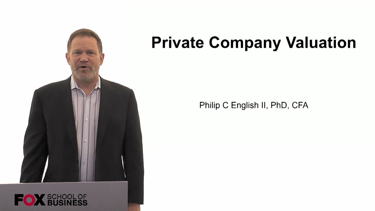 60125Private Company Valuation